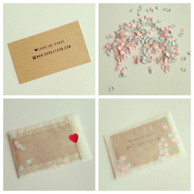 Handmade Crafty Business Cards Diy A Little Piece Of Love