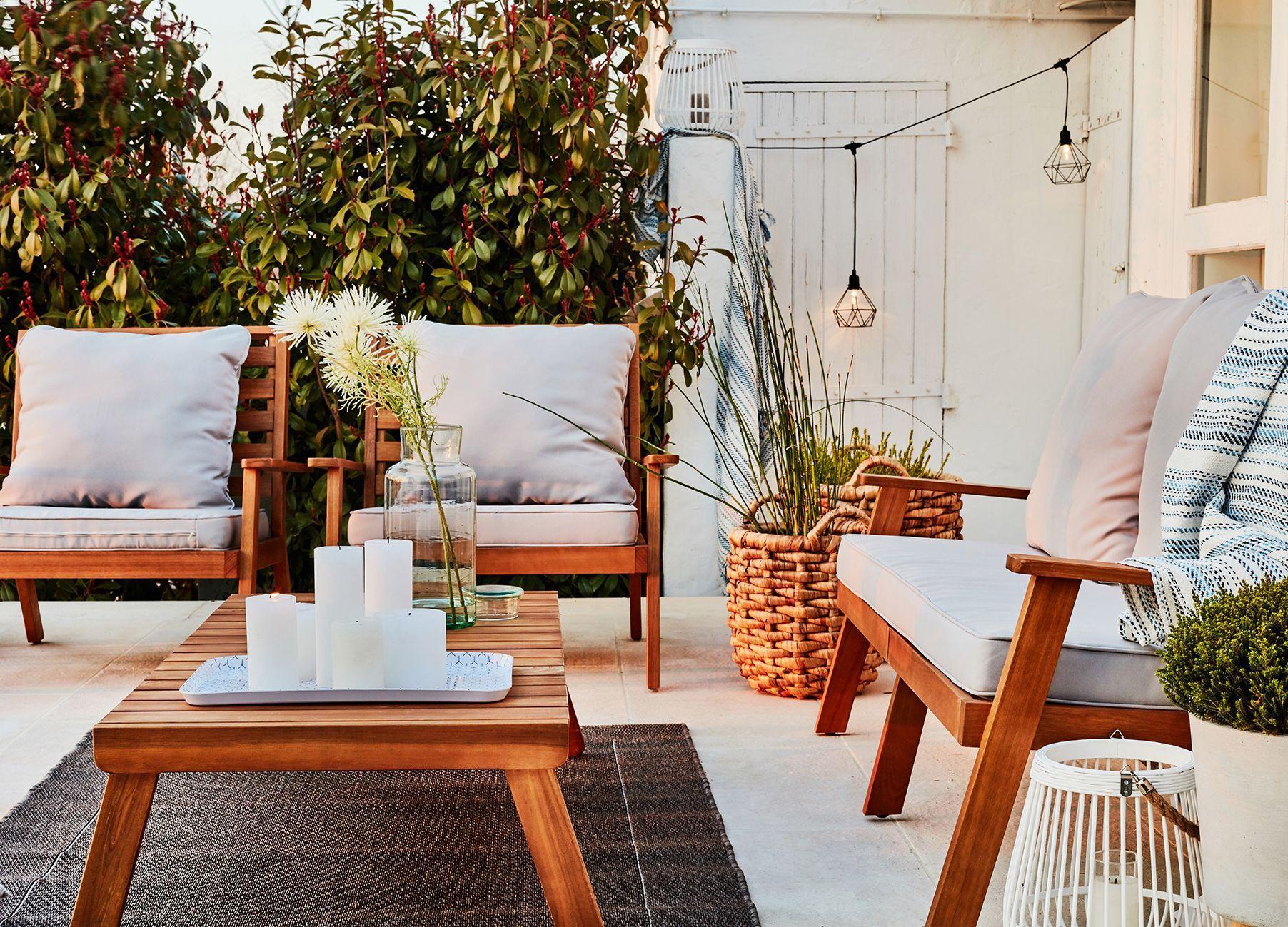 Tapis extérieur pour terrasse et jardin | sweet home | Tapis ...