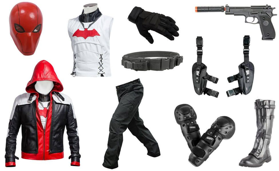 Red Hood Costume | Red hood cosplay, Red hood costume, Red ...