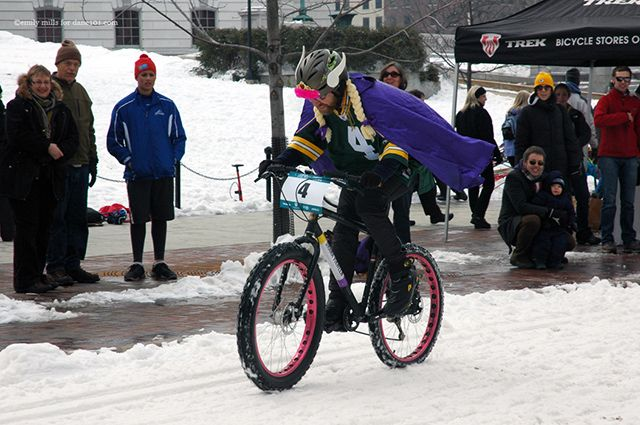 A network of bike trails connects the entire city and surrounding communities. A popular event that combines winter and biking, of which Madison has plenty of both, is the Cyclo Frost Cyclocross, part of the Madison Winter Festival.