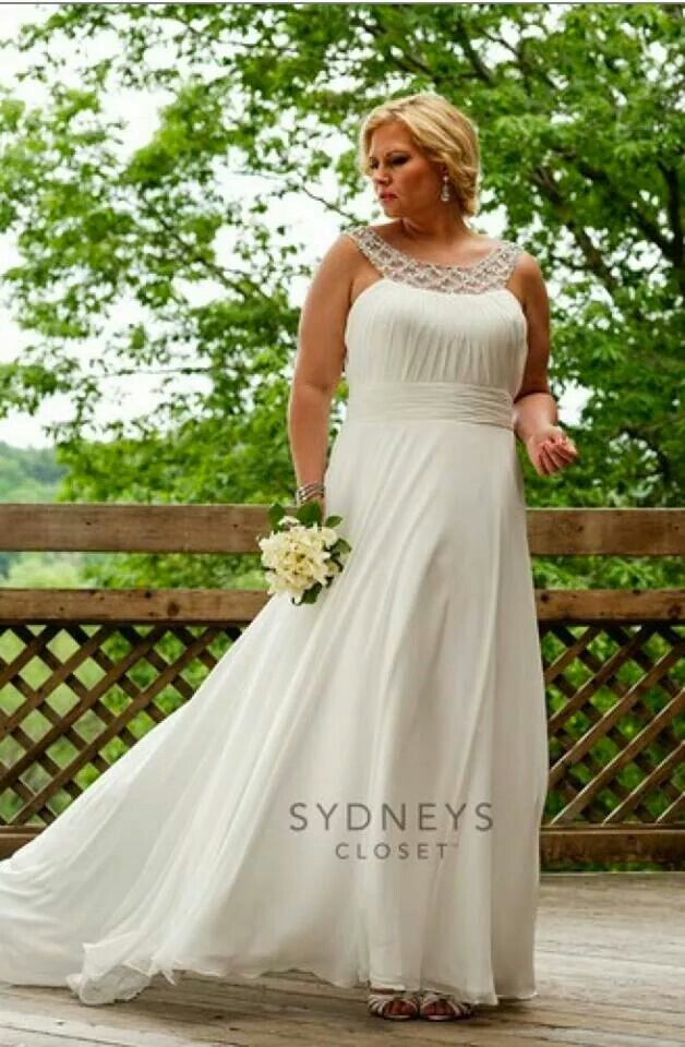 Love this! & plus size whoop! (With images) Plus wedding
