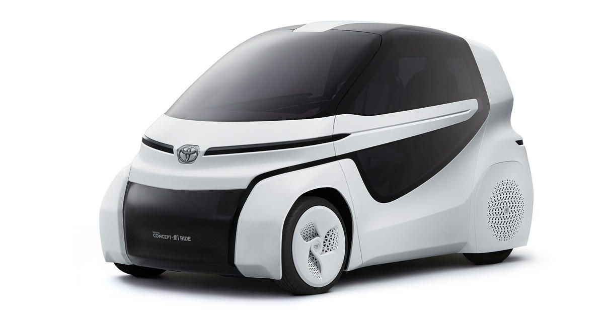 Toyota Concept-i Ride makes mobility easier for the handicapped At ...