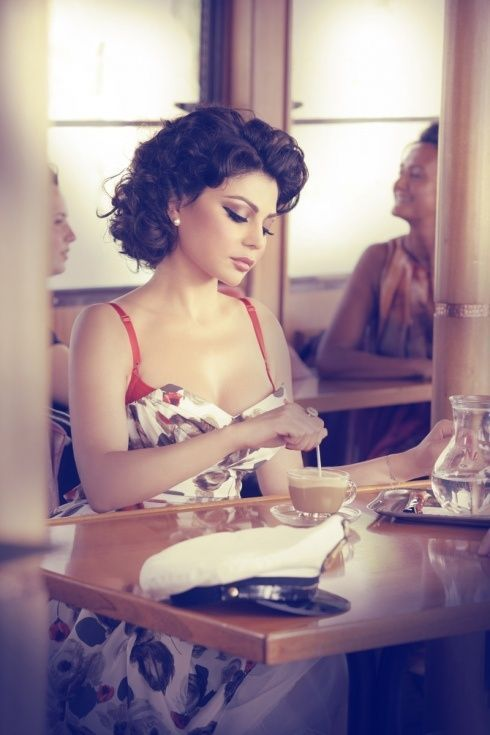 Vintage glam   ~ My Style ~   Pinterest   Haifa wehbe, Haifa and ...