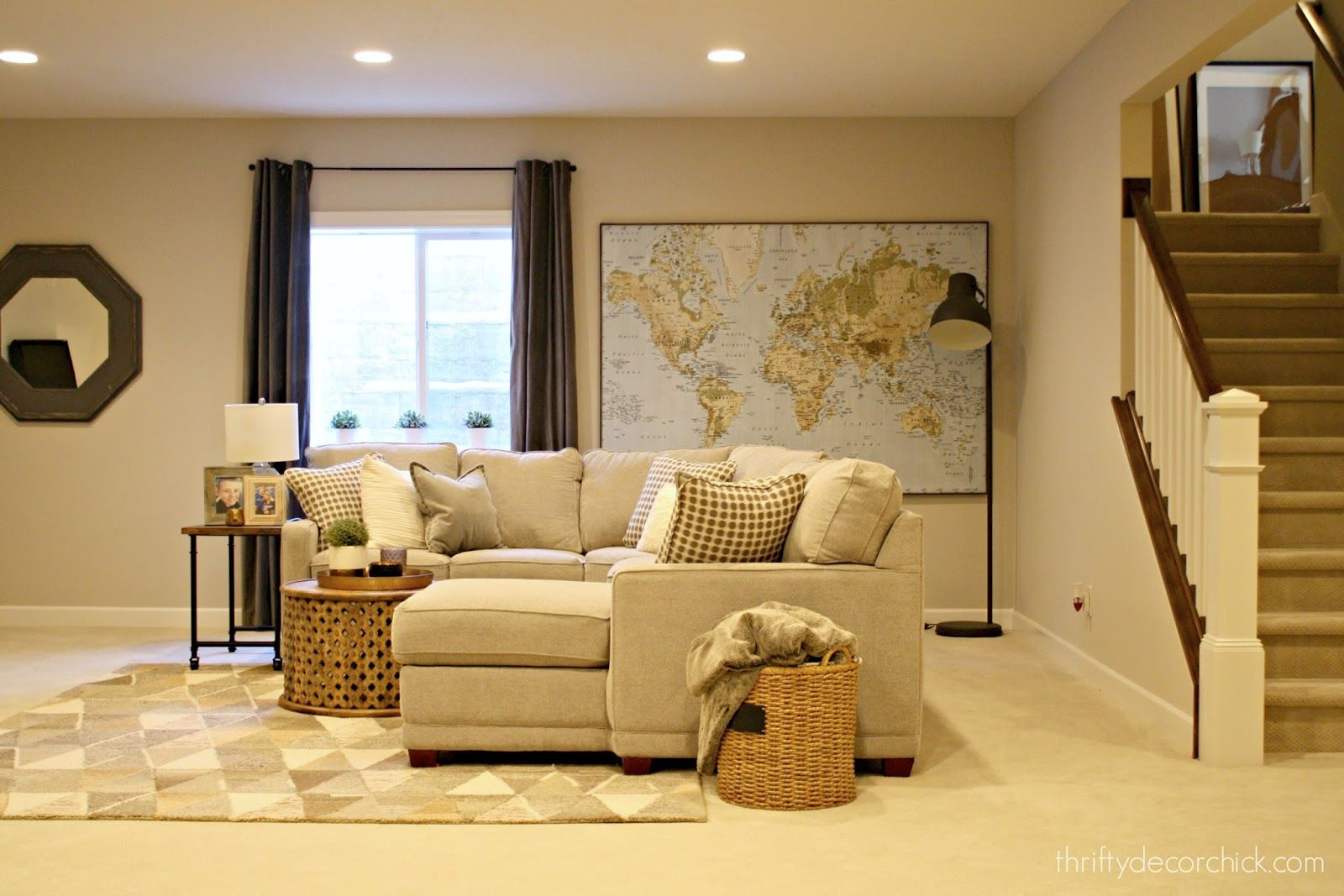Photo of Adding something warm and cozy in the basement family room – İdeen tree
