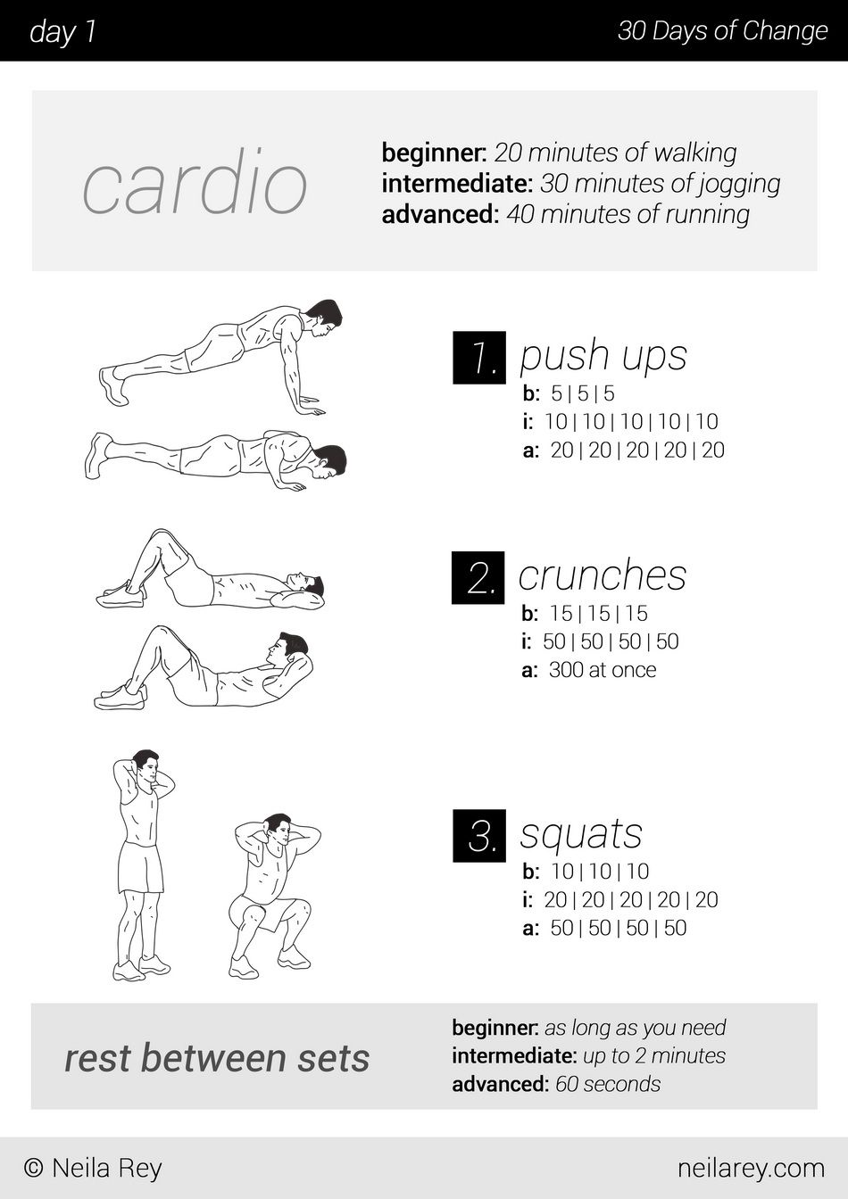 No equipment day workout program workouts pounds lose