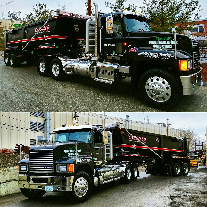 Pin By Chuck Keyes On Dump Trucks Dump Trucks Mack Trucks Trucks