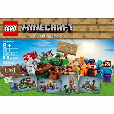 Toys With Images Lego Minecraft Craft Box Minecraft