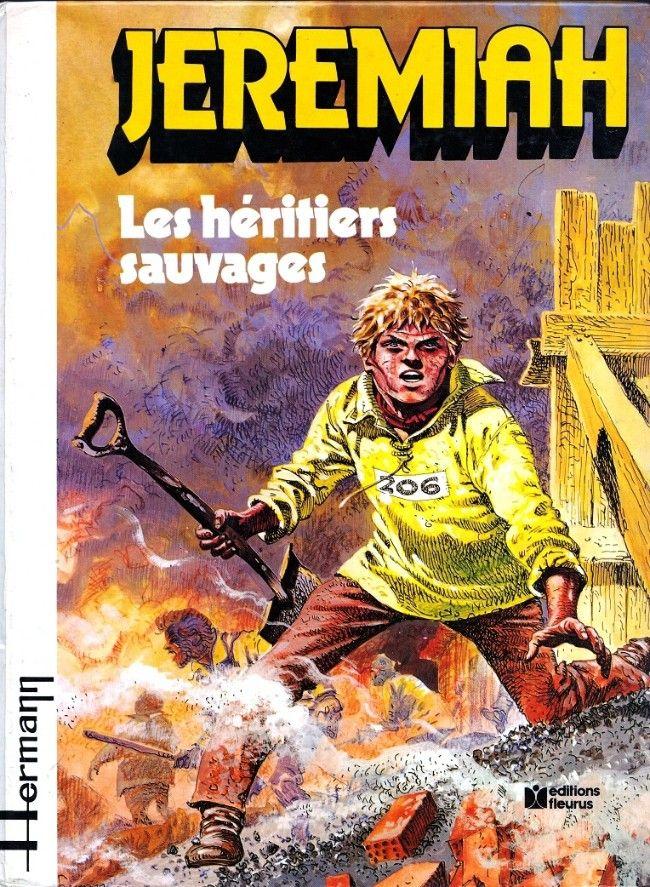 Jeremiah 3 Les Heritiers Sauvages Les Heritiers Sauvage Noir Et Blanc
