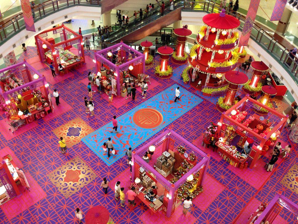 Shopping mall lunar new year decoration 2014 t m v i - Lunar new year decorations ...