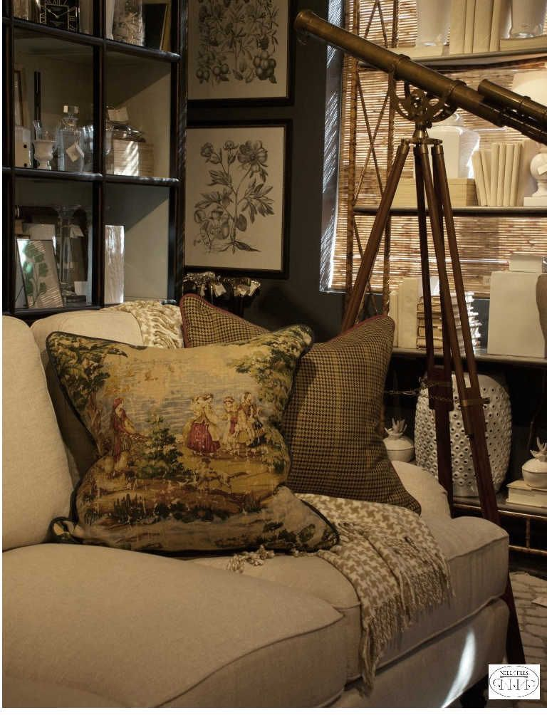 Make sure your brown rooms aren't too dark and dull. Pull in lighter colors for contrast and brightness.