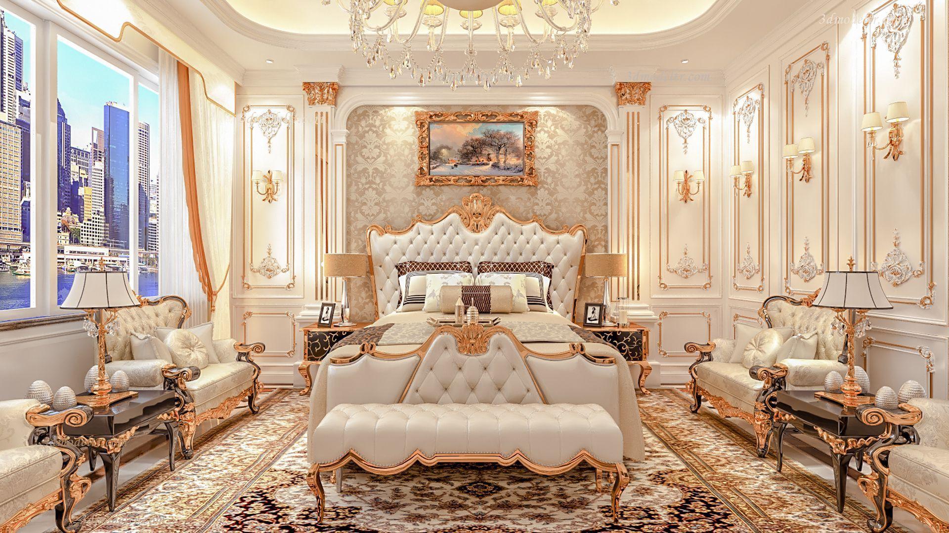 Luxury Livingroom 3dmodeltr Architecture Design Exterior Design 3dmodel Interior Design House Villa