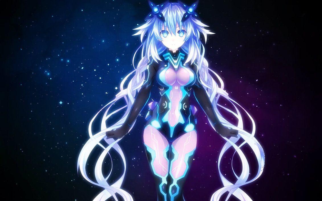 Megadimension Neptunia VII Purple Heart Wallpaper By Jessymoonn Hearts