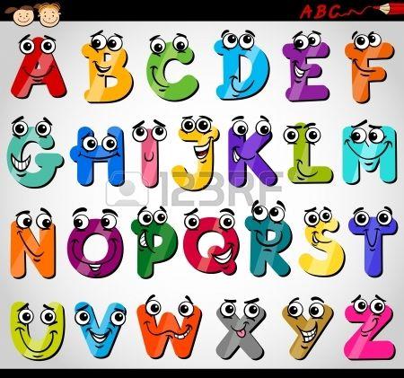 Dibujos abecedario animado - Imagui | ČJ | Pinterest | Gracioso ...