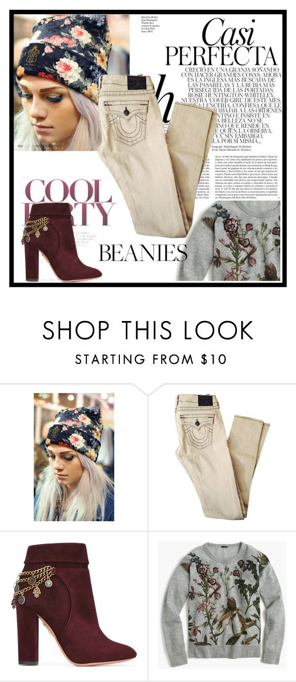 """Beanies"" by gamgul on Polyvore featuring Hardy Punglia, Aquazzura, J.Crew and Whiteley"