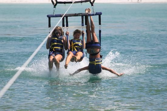 sale retailer 77f12 fdbe4 Girls Just Want to have Fun   siesta key parasailing and jet ski