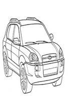 car coloring pages for kids printable suv Coloring pages for kids