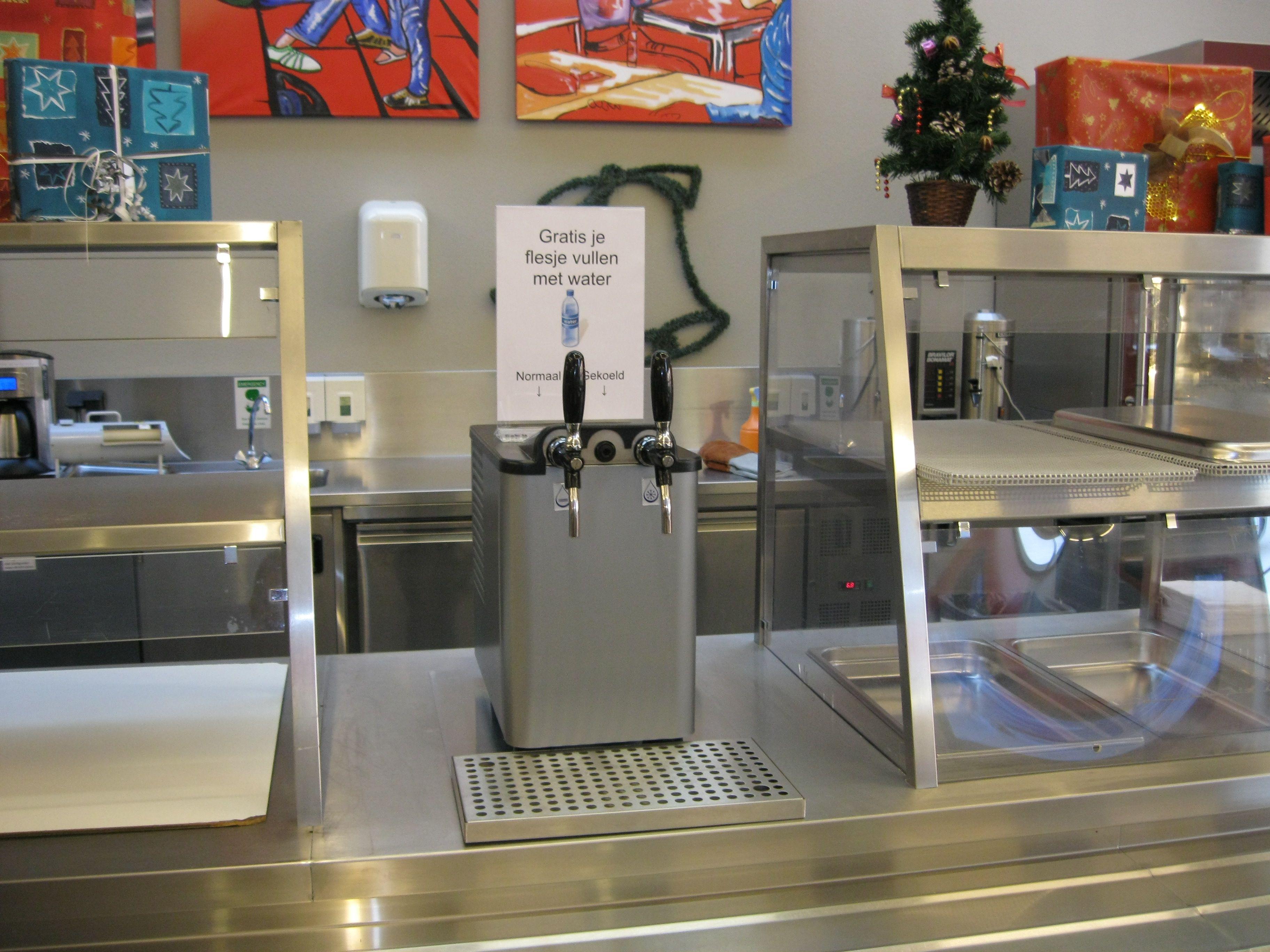 ICE80 waterkoeler Rooi Pannen College