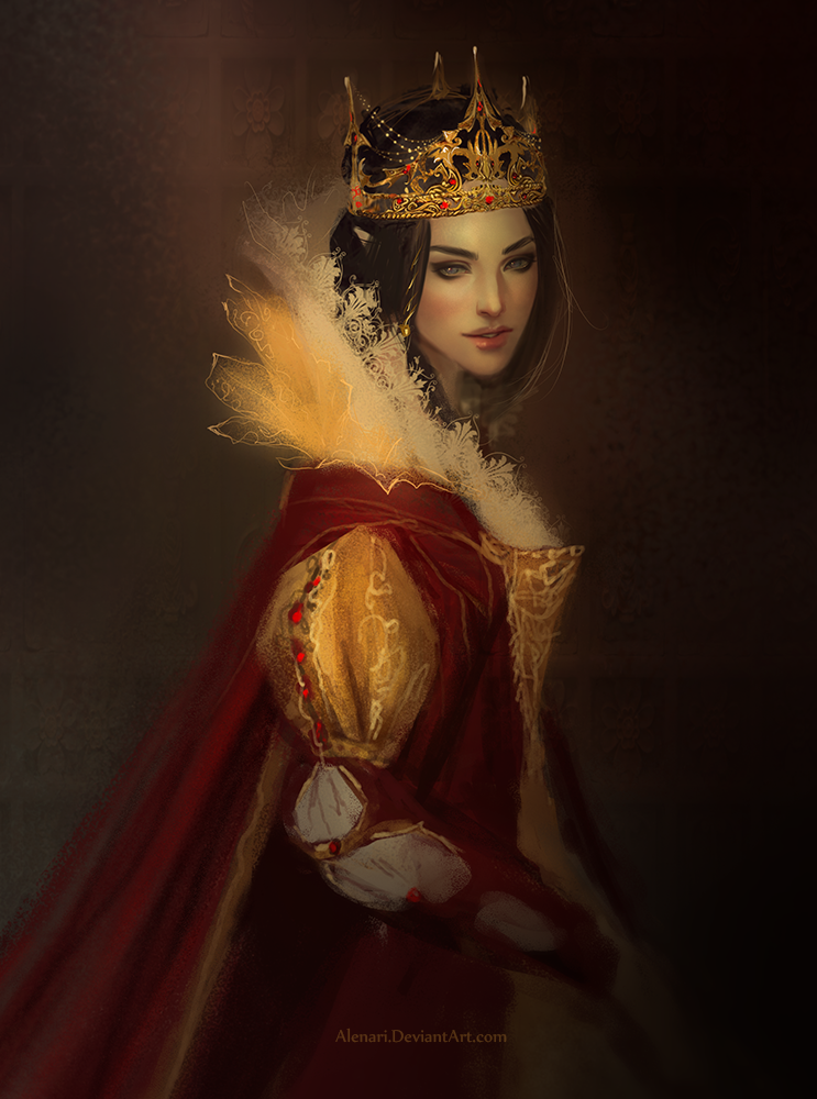 Queen by Alenari on DeviantArt | art: fantasy | Fantasy ...