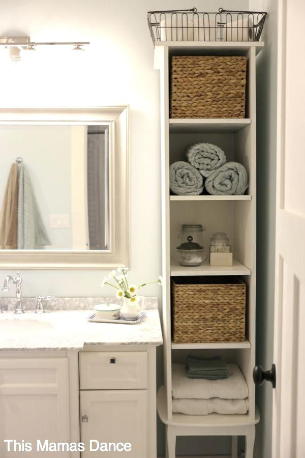 Image Result For Farmhouse Style Beige Bathroom Diy Bathroom Storage Small Bathroom Storage Bathroom Storage Cabinet