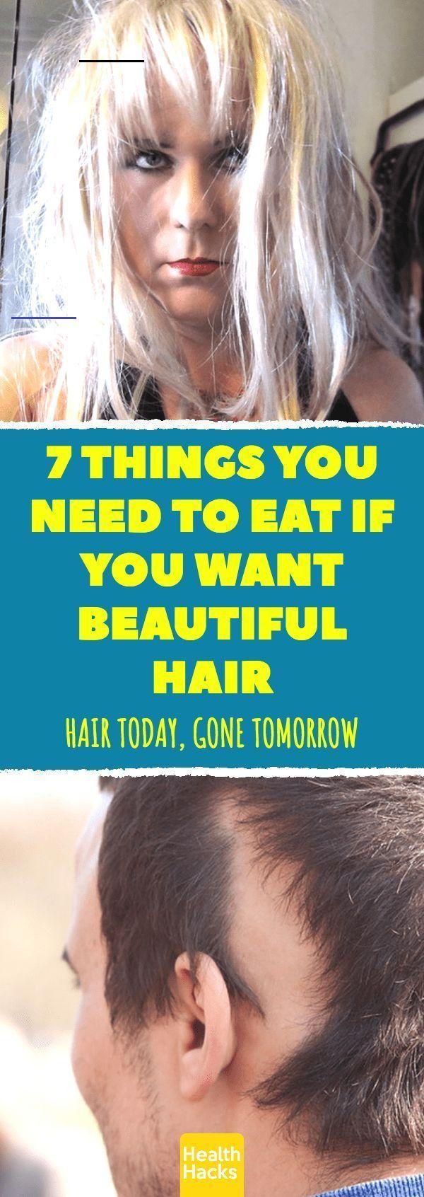 7 Foods For Healthy Hair | #hair #health #healthhair #hairhacks #healthy#foods - Modern