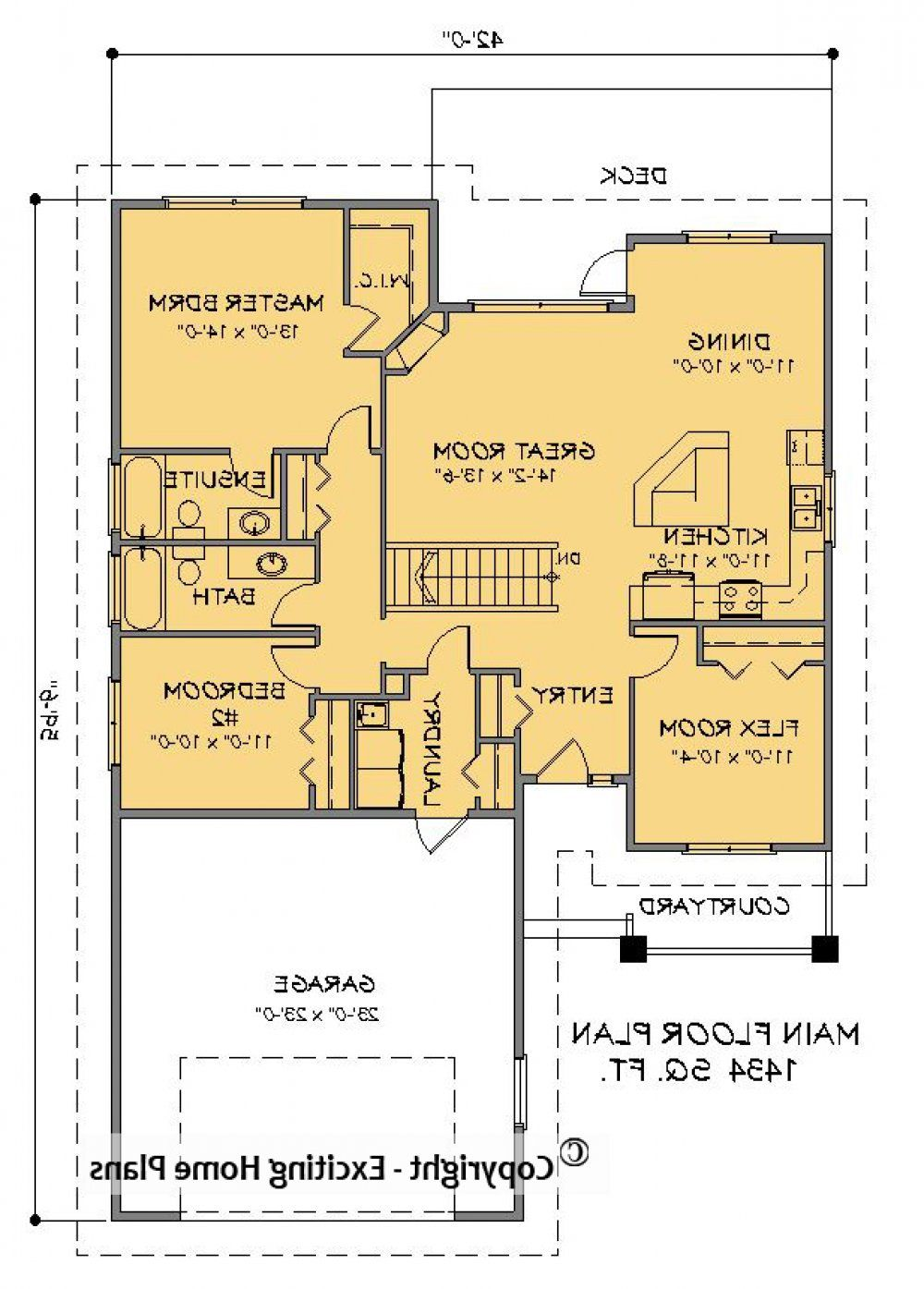 House Plan Information For Lewis 1 Storey Small Home Design Bungalow House Plans House Plans Online House Plans