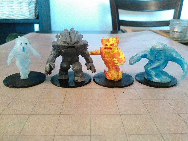 3D print your own gorgeous Dungeons & Dragons monsters for