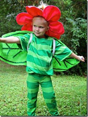 Disfraz De Flor Patrones Para Diadema Halloween Disfraz Facil Disfraces De Halloween Hazlo Tú Mismo Trajes Para Niños