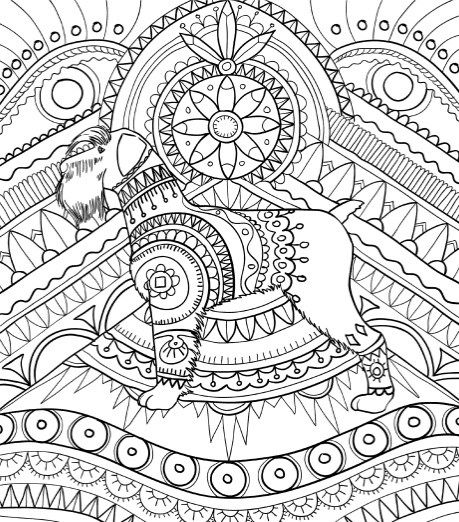 Best Coloring Books for Dog Lovers Amazing dogs, Adult coloring - best of coloring pages for adults dogs