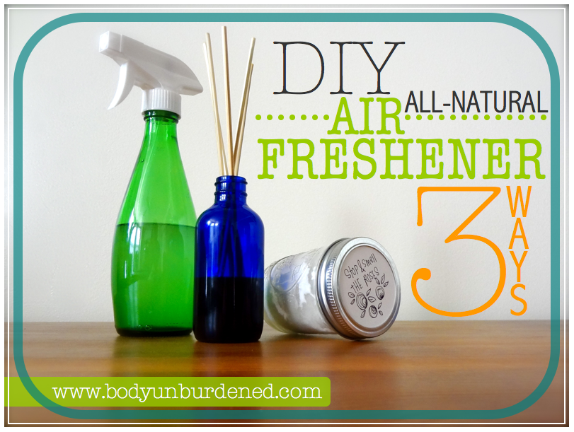 NonToxic DIY Air Freshener 3 Ways Air freshener