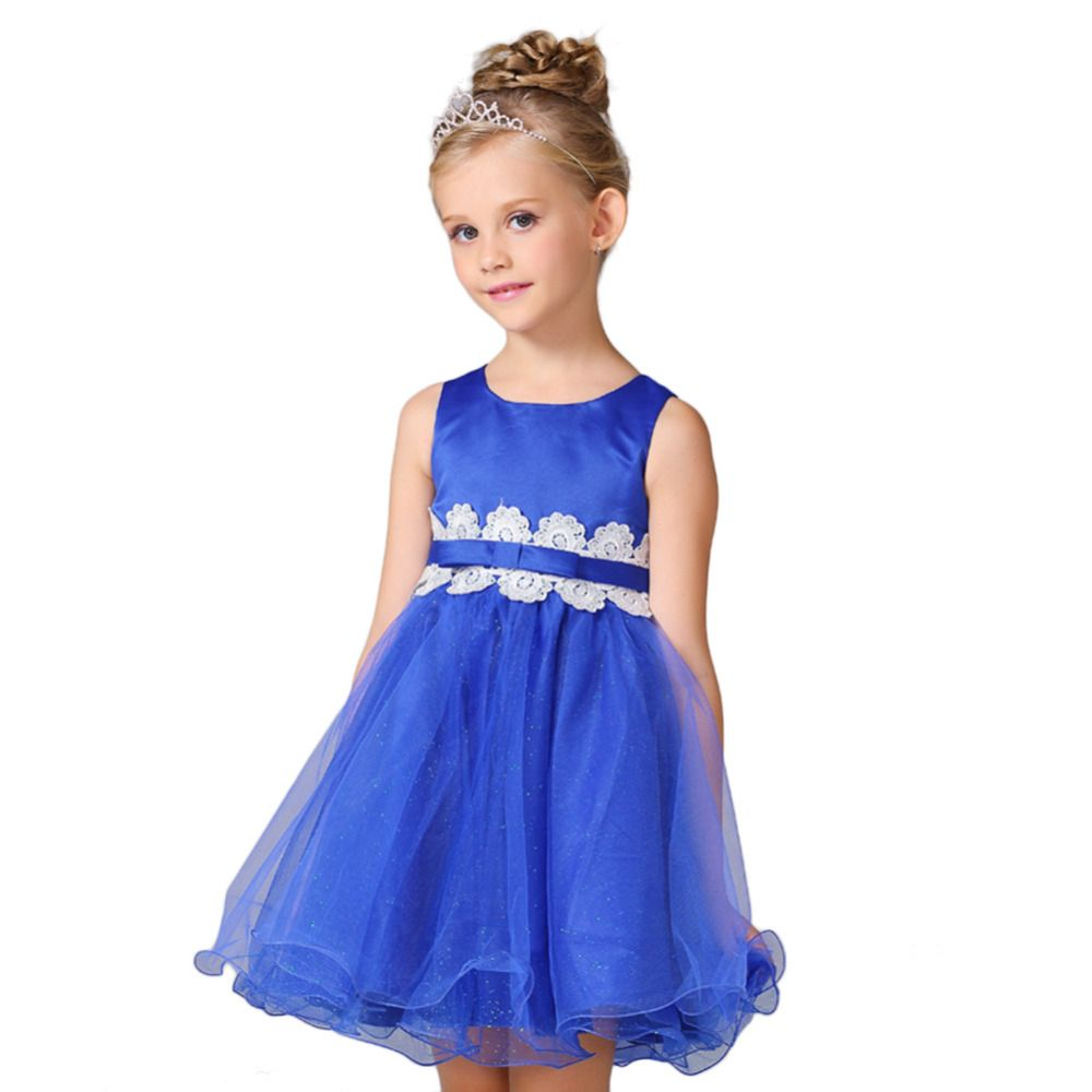 Click to buy ucuc high quality baby girl lace wedding dress princess