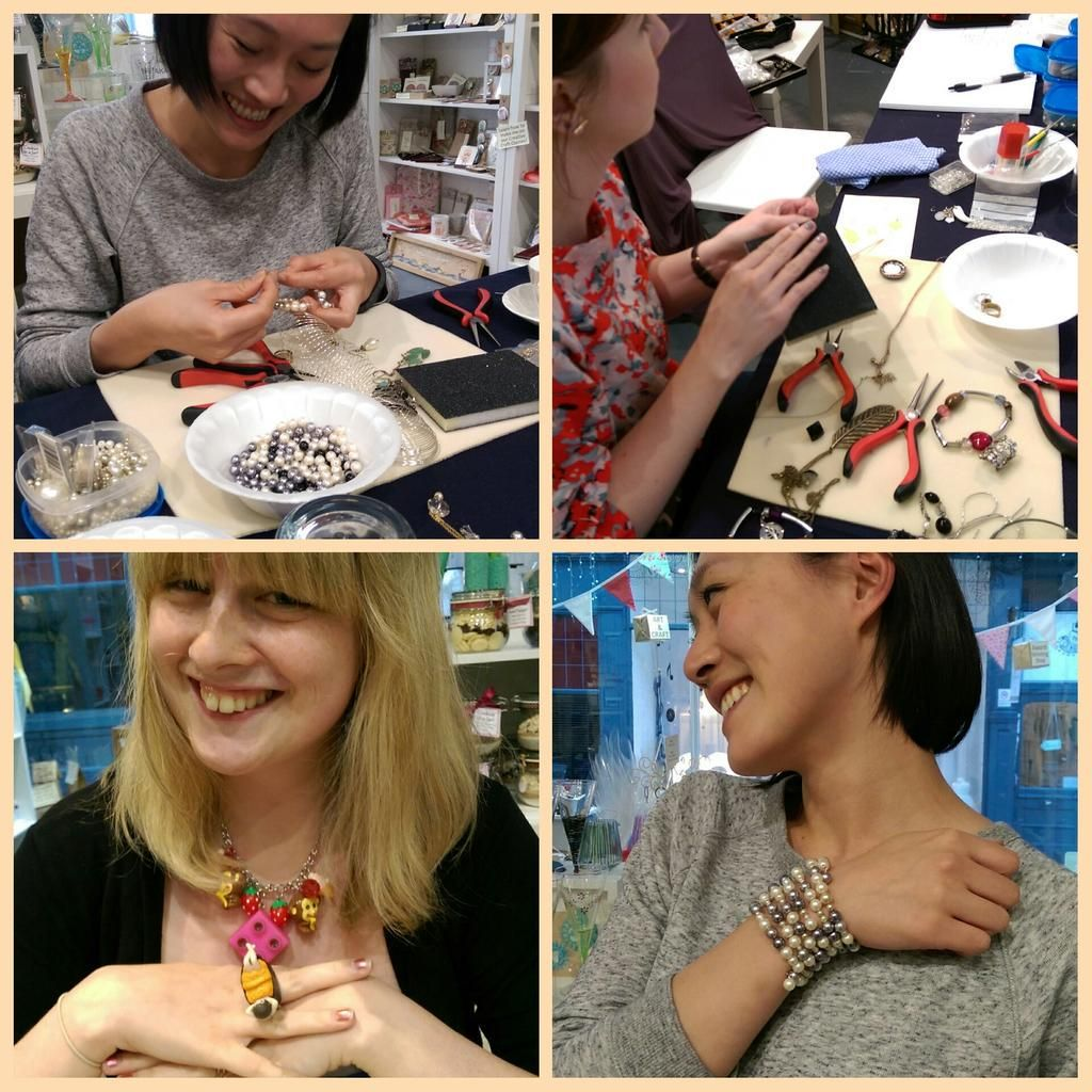 #ecocreatehour not long til my Recycled Jewellery workshop on 13 August. Book your place via @ourhandmadecoll #Leeds