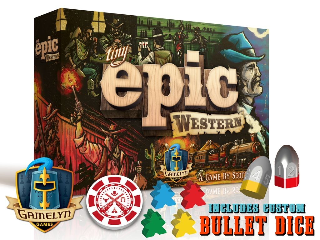 Tiny Epic Western project video thumbnail Board games