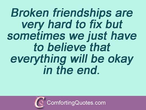 friendship broken trust quotes