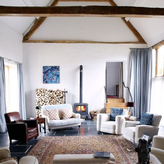 Living room 17th century farmhouse house tour photo gallery country homes and interiors housetohome co uk