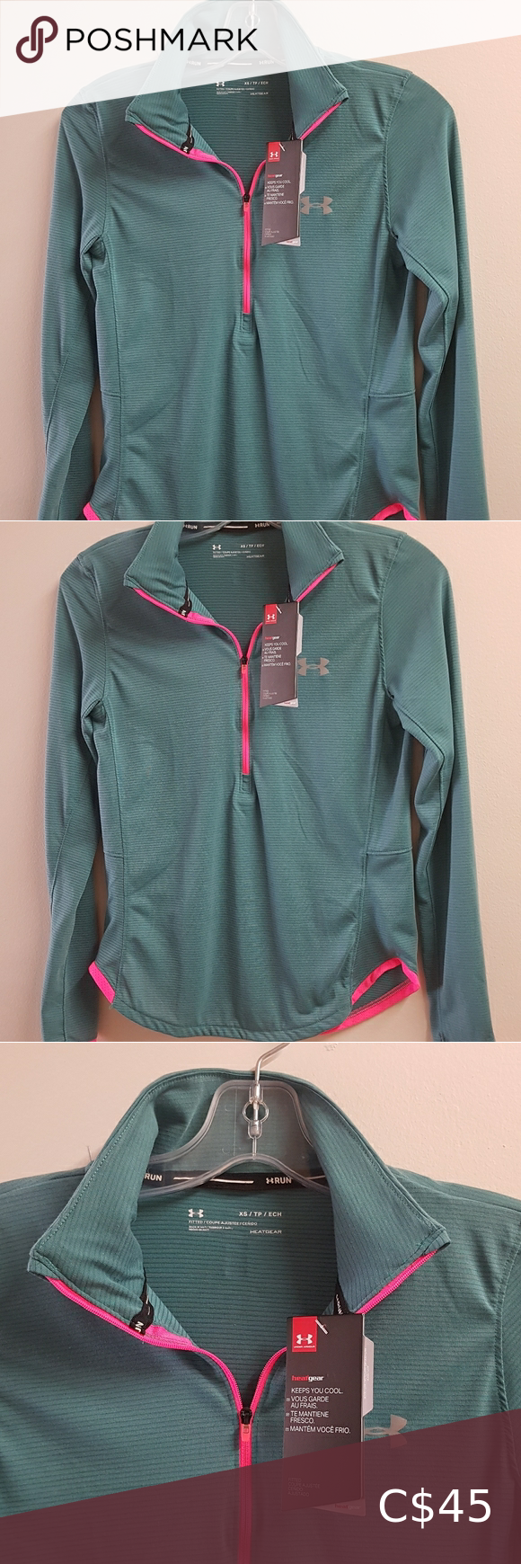 NWT Under Armour Running Gear Fitted Size XS