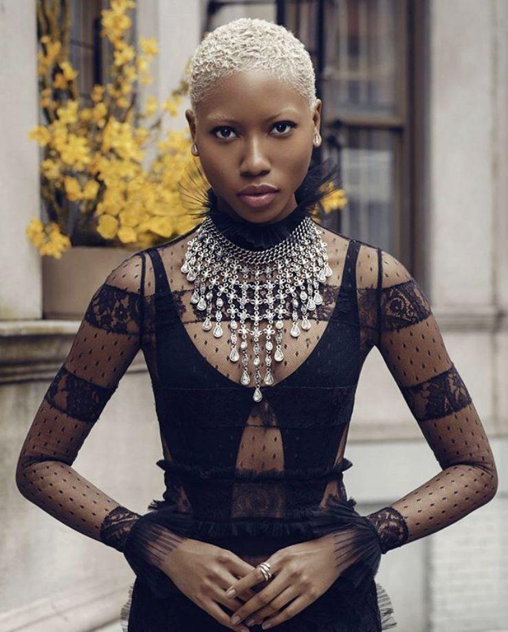 Short Hair Blonde African American Blonde Hair Black Girls
