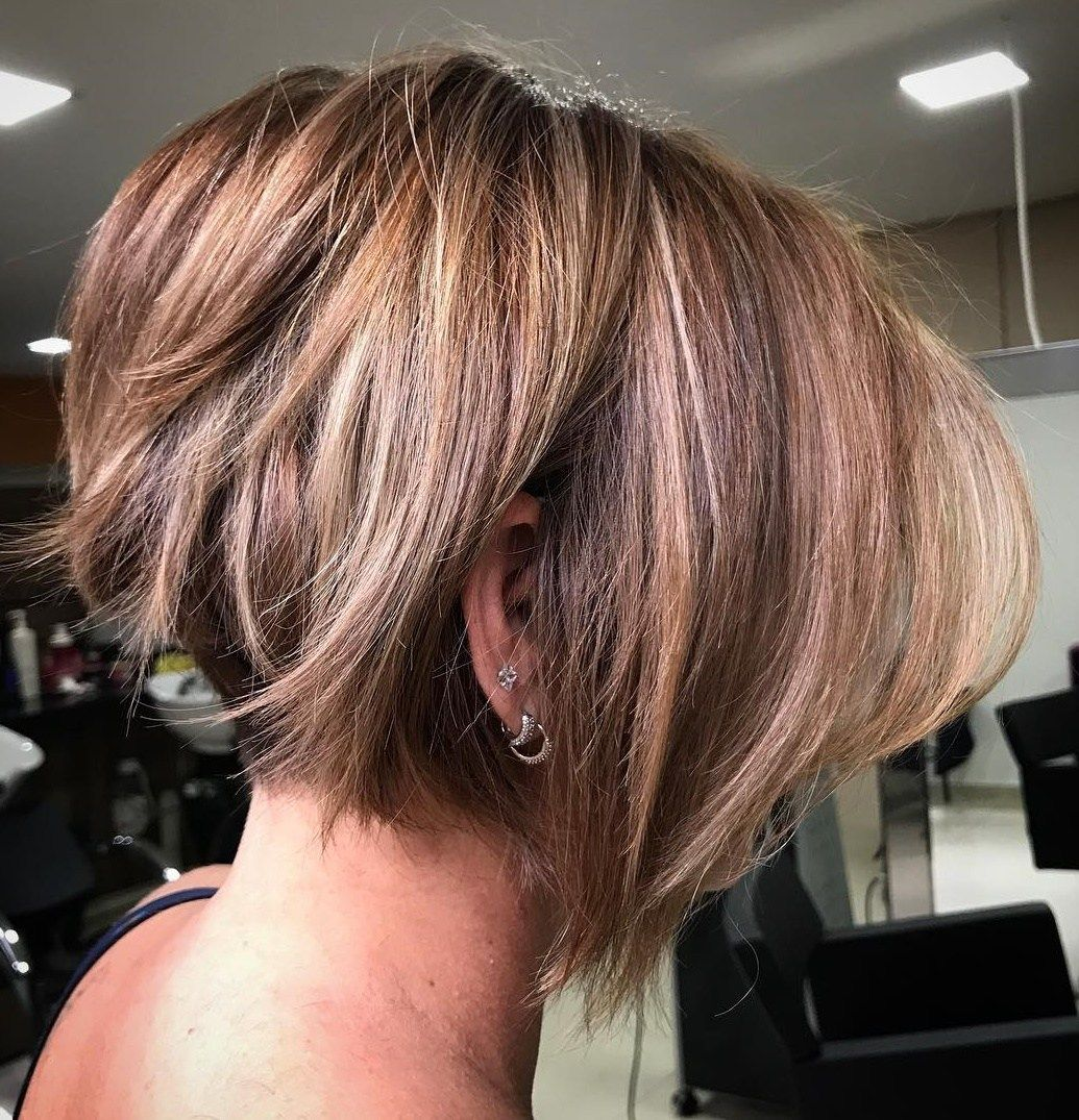 Undercut Bob With Jagged Ends Short Hairstyles For Thick Hair Thick Hair Styles Short Hair Lengths