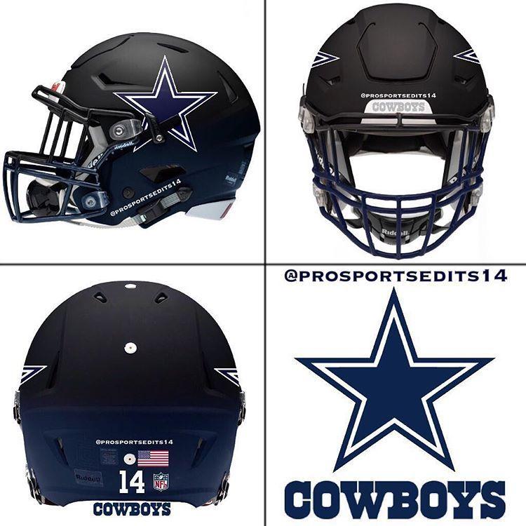 America 39 s team helmets pinterest cowboys dallas and - Dallas cowboys concept helmet ...