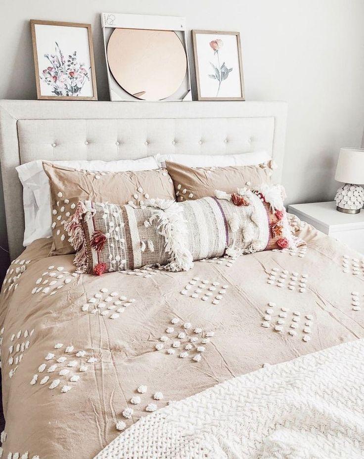 soft pastels #indischesschlafzimmer