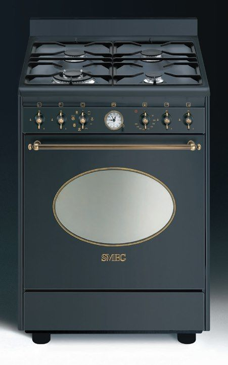 smeg co68gmad8 gas elektro standherd nostalgie gasherd. Black Bedroom Furniture Sets. Home Design Ideas