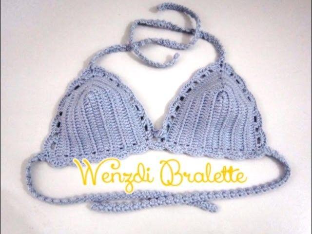Wenzdi Crochet Bralette   Crochet   Pinterest