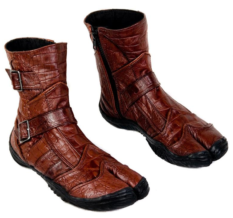 leather tabi boots not just for ninjas anymore