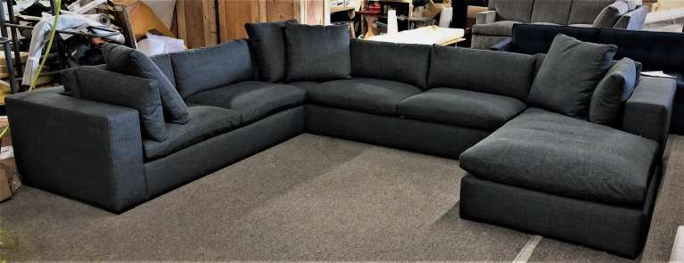 CLAUDIA STYLE Custom Dream Sofa Or Dream Sectional Leather Or