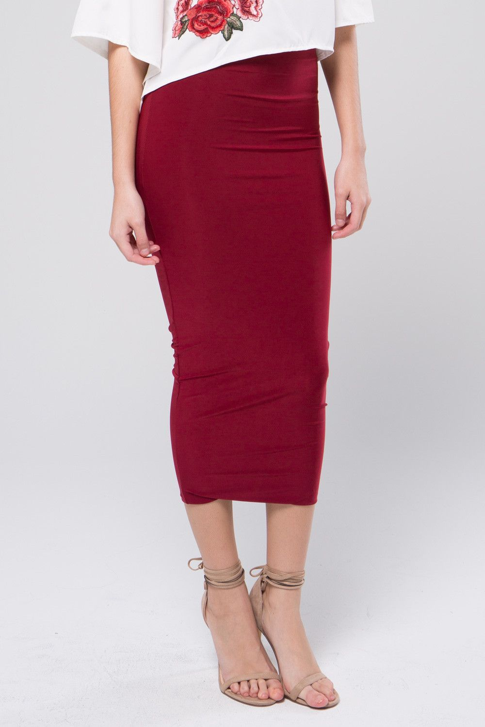 Feel your body pencil skirt products pinterest simple long