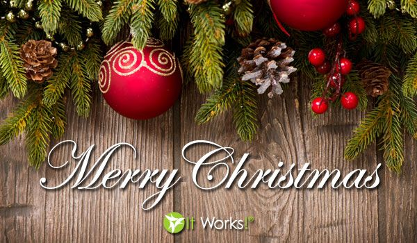 Merry Christmas from It Works Global! http://www.bodywrapparties ...