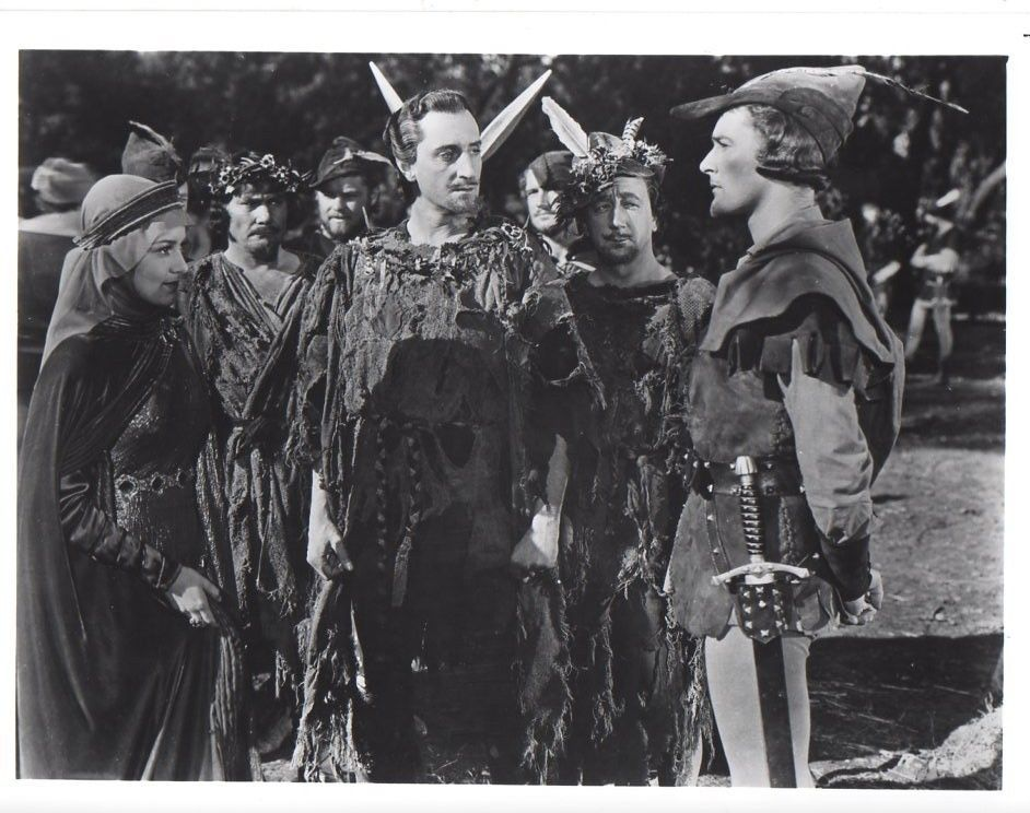 Errol Flynn Robin Hood 8x10 glossy Photo #F262