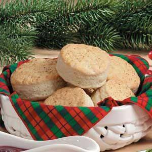 Eggnog Biscuits