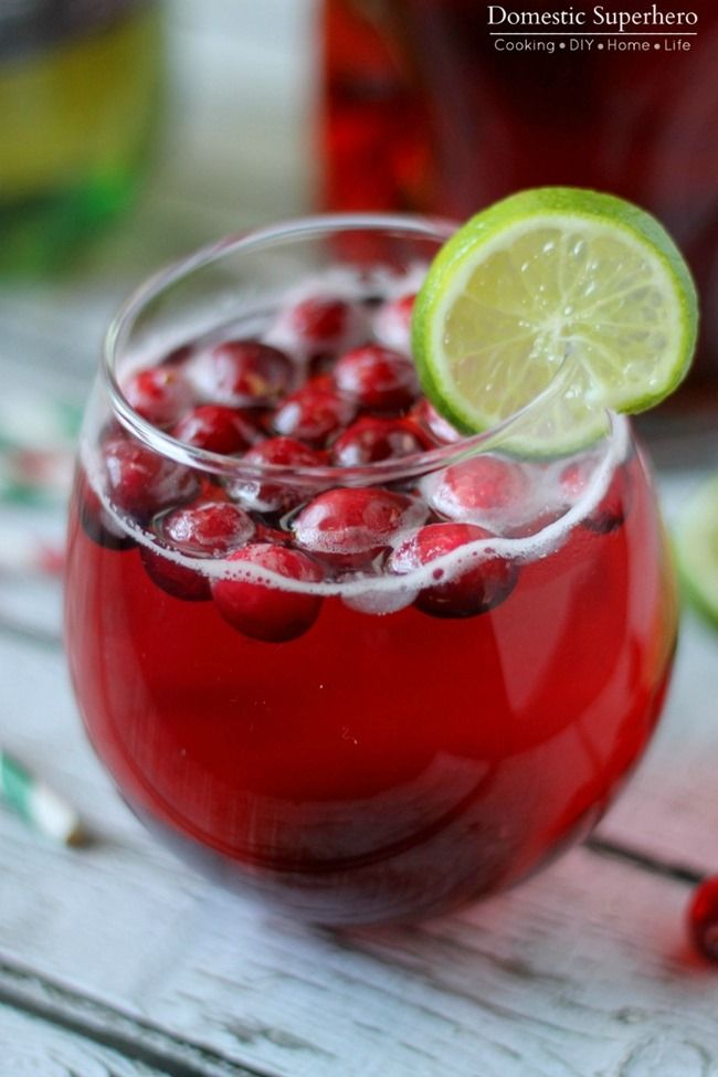 Cranberry Ginger Holiday Cocktail is the perfect signature drink for