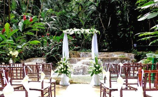 Ocho Rios Jamaica Wedding Tropical Caribbean Weddings Weddingmoon