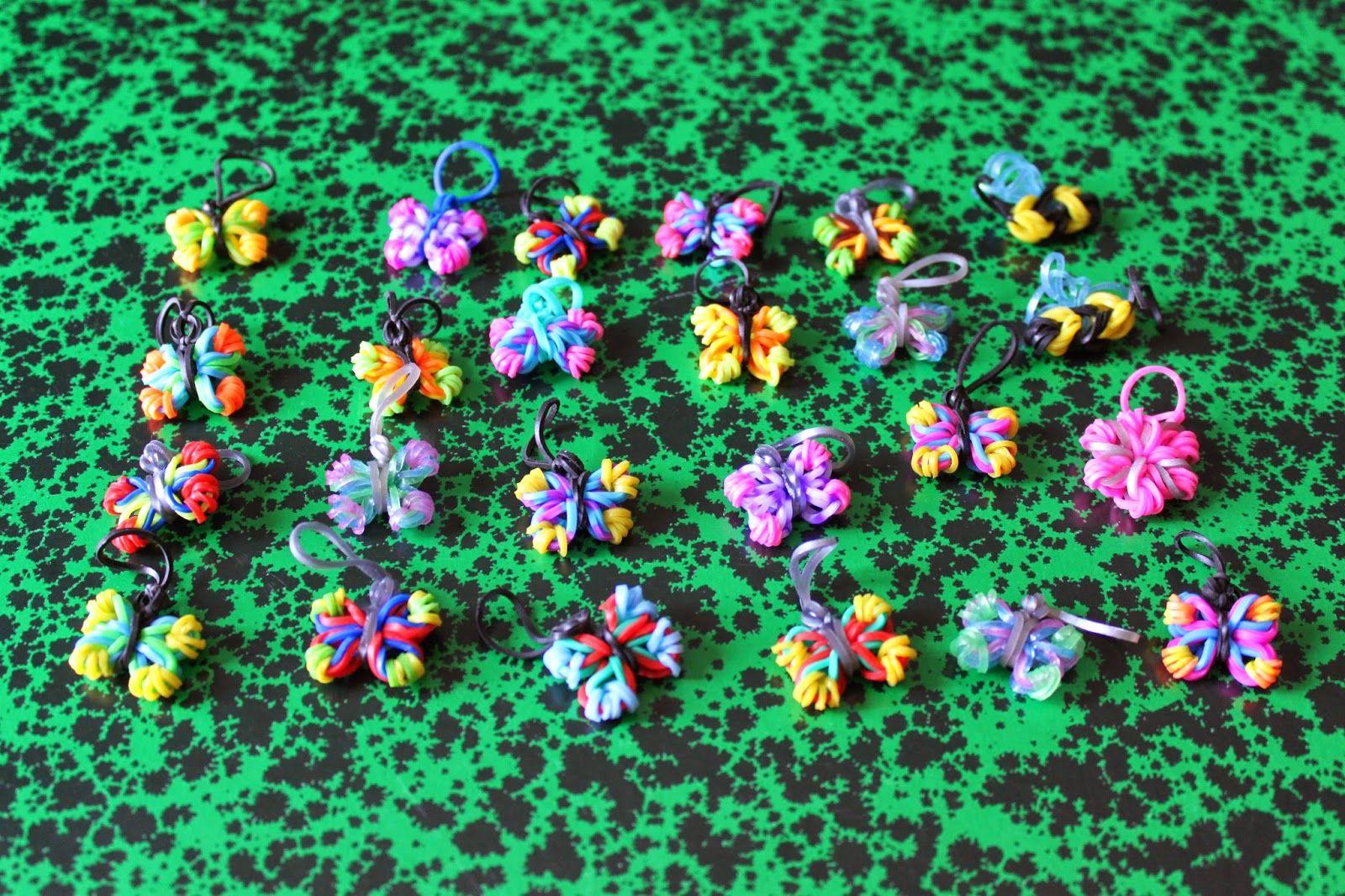 papillon - butterfly - loom